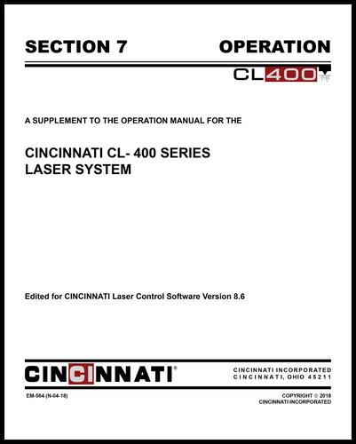 EM-564 (N-04-18) CL-400 Laser System_Section 7_OSM