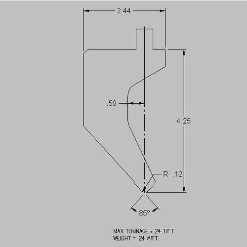 Cincinnati American Tooling S8C8A