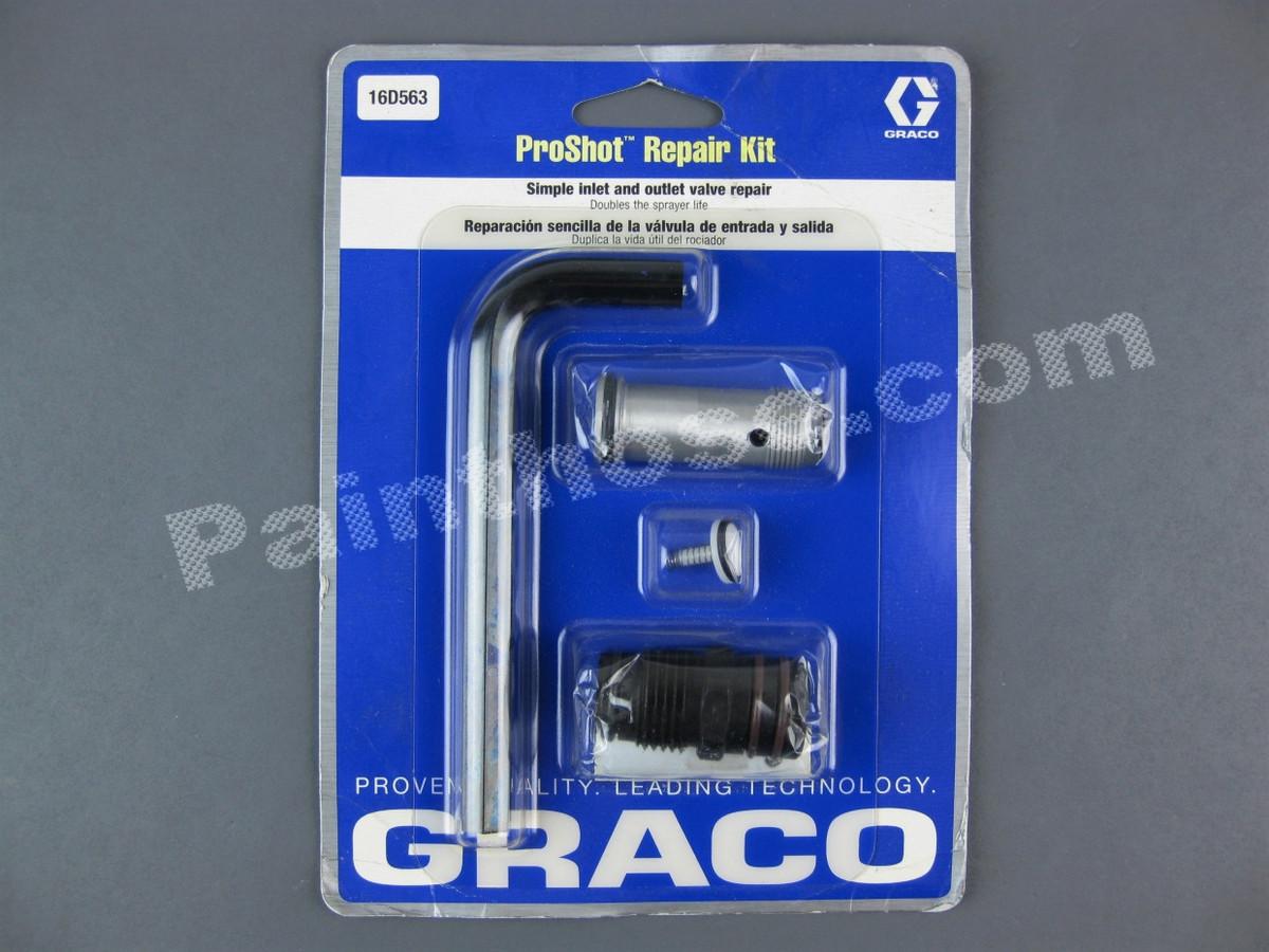 graco 16d563 proshot repair kit oem. Black Bedroom Furniture Sets. Home Design Ideas