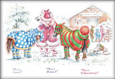 Christmas Horse Card:  Mine's Gucci #JT41