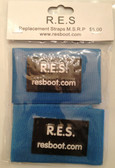 Velcro Straps, BLUE (Package of 2) for RES Boot Products
