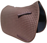 Chocolate Brown Dressage Saddle Pads