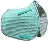 Mint Green Pony Saddle Pad.