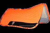Neon Orange / Hunter Safety Blaze Orange Western Saddle Pad