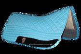 Turquoise / Atlantic Blue Western Saddle Pad