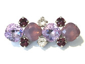 Iris My Trainer LILACed Amethyst Dressage Brooch / Stock Pin | Long Arena by Beasties™