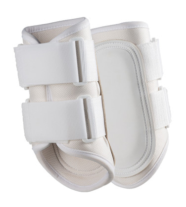RES Impact Protection Splint Boots.  Shown here in white.