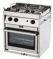 FORCE 10 - A21 - 2 BURNER - MARINE GALLEY RANGE - N.A STANDARD SIZE 63251