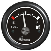 Fuel Level Gauge - Black