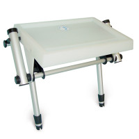 Small Twin Leg Deluxe Bait Board with Twin Rod Holders