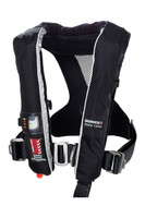 Burke Race Automatic Inflatable PFD Life Jacket with Harness