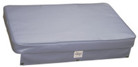 Axis Upholstered Boat Cushion - Grey