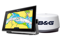 B & G Vulcan FS 12 Chartplotter and 3G Broadband Radar Bundle