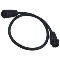 Lowrance 7 Pin Blue to 9 Pin Black XDCR Adapter