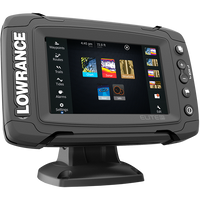 Lowrance Elite 5 Ti Touch DownScan Combo with Navionics