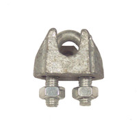 Cable Clamp Galvanised 3mm
