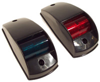 Traditional Navigation Light Port and Starboard - Black