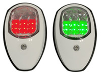 Navigation Lights Port and Starboard White LED