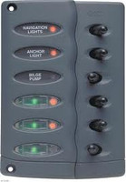 Bep 6 Switch Panel Vertical Ptc