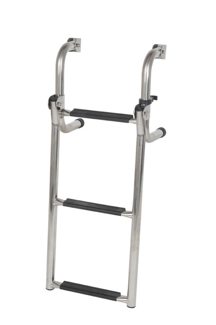 Oceansouth 3 Step (2 Folding) Transom Ladder