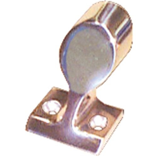 """Stainless Handrail End Base 22mm (7/8"""")"""