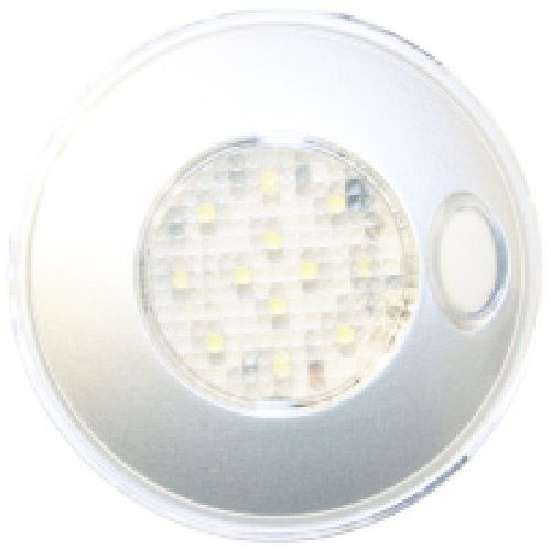 12 Smd Led Light White W/ Illum. SW
