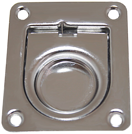 Flush Pull S and s Anti Rattle 65mm X 55mm