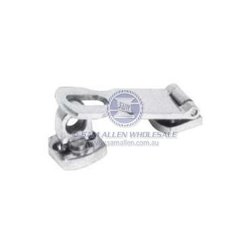 Hasp and Staple Twist Lock H and d 75mm X 25mm