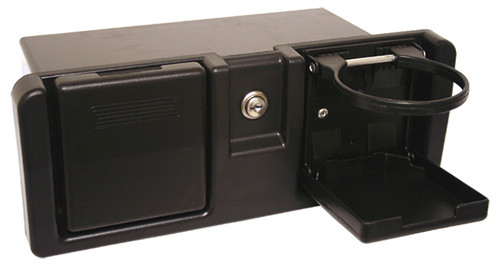 Glove Box With Drink Holders
