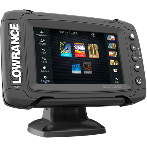 Lowrance Elite 5 Ti Touch TotalScan Combo with Navionics +