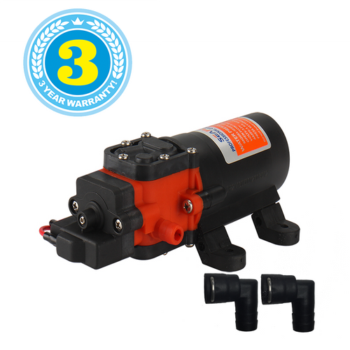 SEAFLO Series 21 Diaphragm Water Pump includes Connector