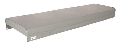 OceanSouth Upholstered Boat Cushion - Grey