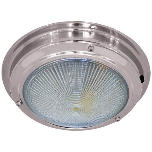 Dome Light Stainless Steel 140mm Led