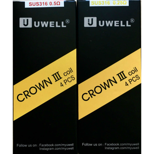 Uwell 3 Crown Coil (5 Pack)