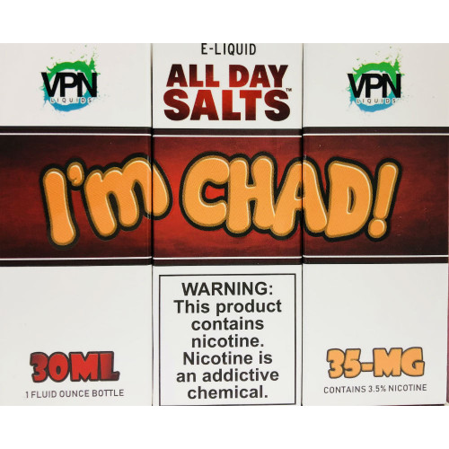 I'M Chad Salt Nic