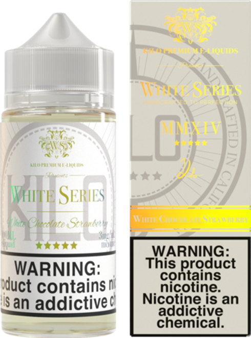 White Chocolate Strawberry (White Series) 100 ml By Killo