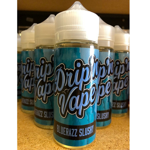 Blue Razz Slushy (120 ml) By Drip'n Vape SALE!!