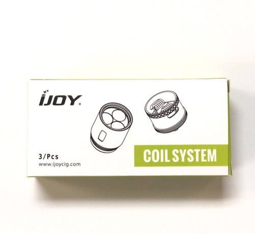 iJoy Captain X3S /Diamond/  iJoy Avenger Sub-Ohm Coil (3pack)