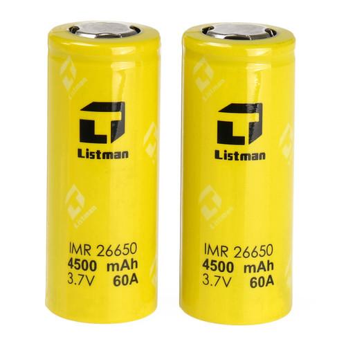 Listman 26650 4500mah 60A battery