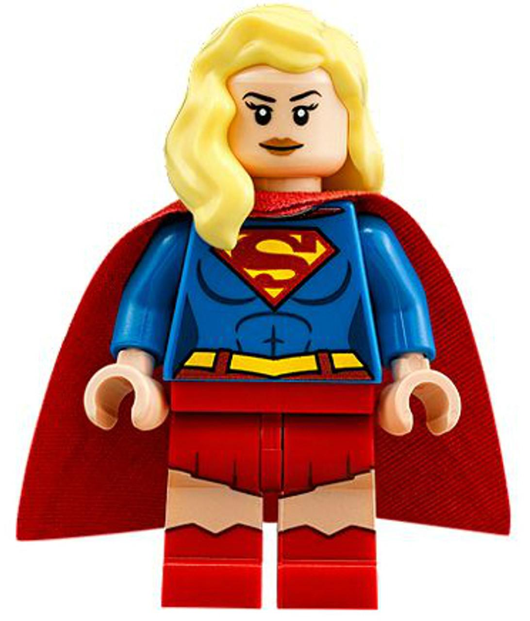 LEGO DC Supergirl Supergirl Minifigure Loose - ToyWiz