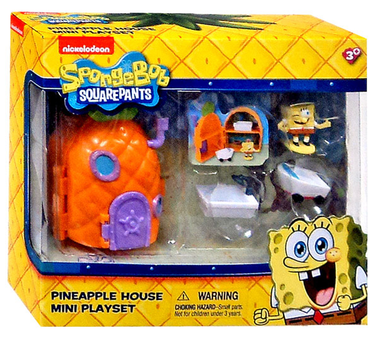 Spongebob Squarepants Pineapple House Mini Playset Just