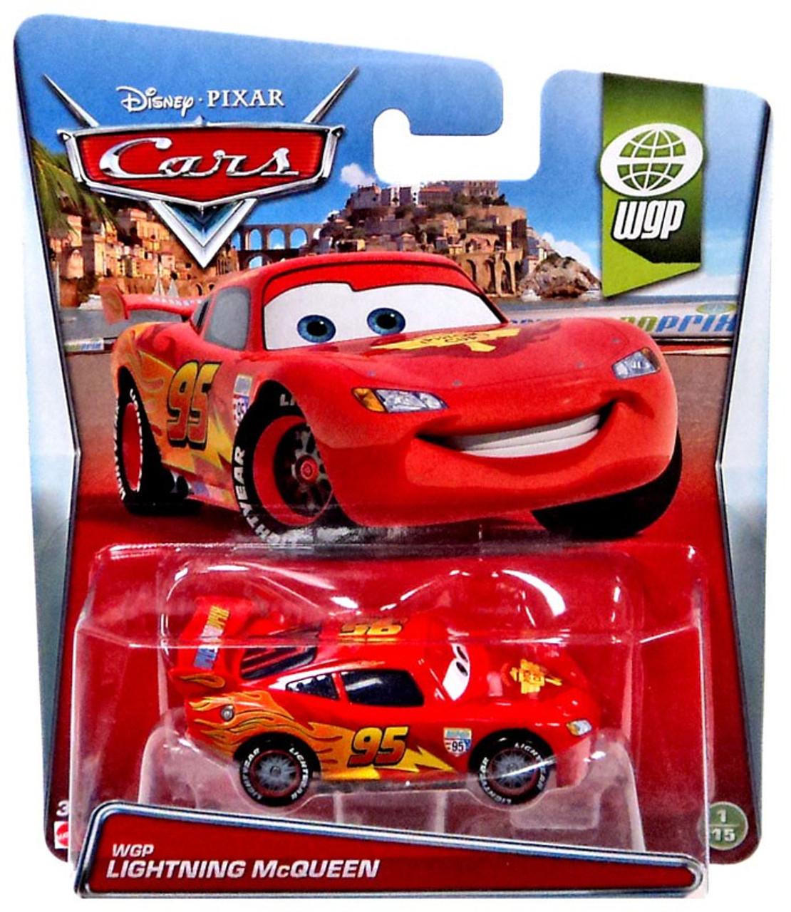 Disney Pixar Cars WGP Lightning McQueen 155 Diecast Car