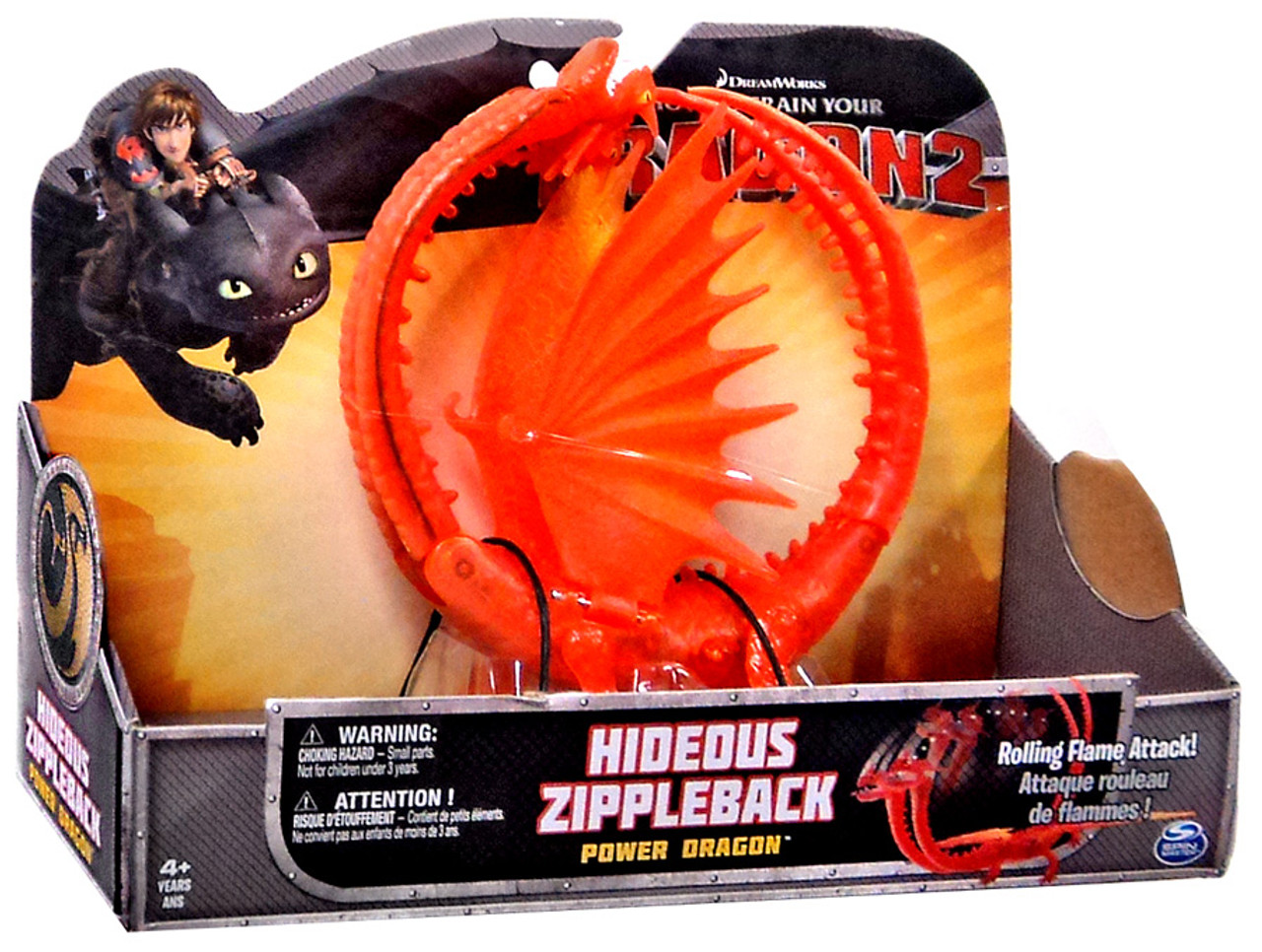 How to train your dragon 2 power dragons hideous zippleback action how to train your dragon 2 power dragons hideous zippleback action figure spin master toywiz ccuart Choice Image