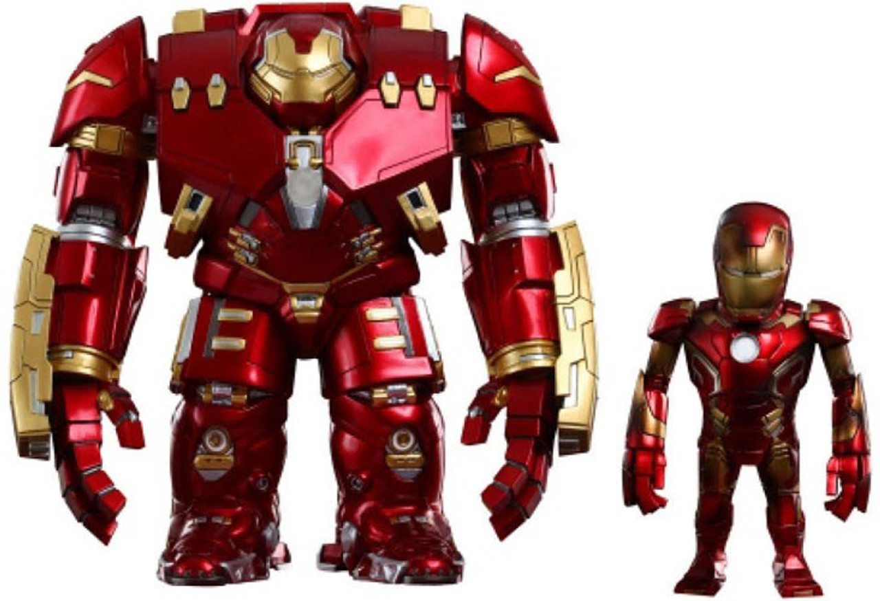 Marvel Avengers Age of Ultron Artist Mix Figure Series 1 Hulkbuster & Mark XLIII Damaged Action Figures