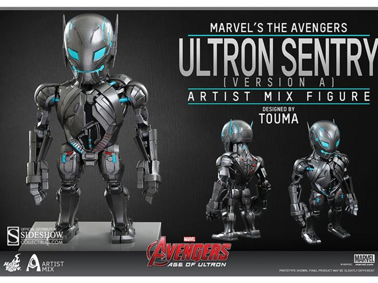 Marvel Avengers Age of Ultron Artist Mix Figure Series 1 Ultron Sentry Action Figure [Version A]