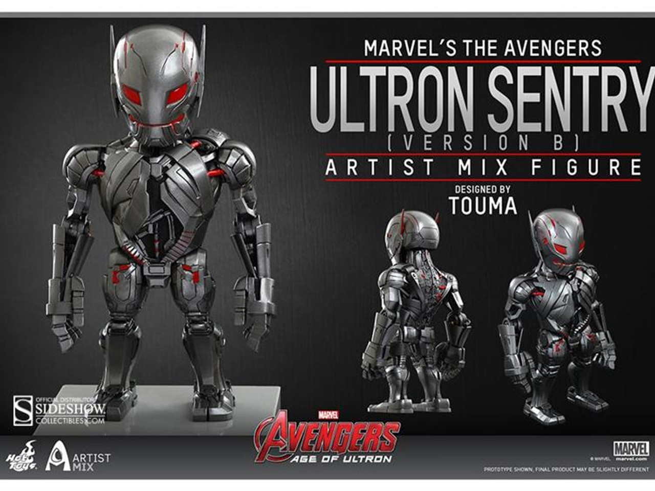 Marvel Avengers Age of Ultron Artist Mix Figure Series 1 Ultron Sentry Action Figure [Version B]