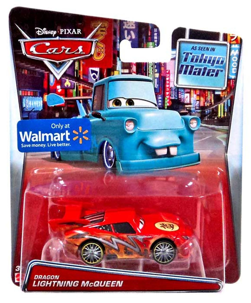 disney pixar cars dragon lightning mcqueen exclusive 155 diecast car