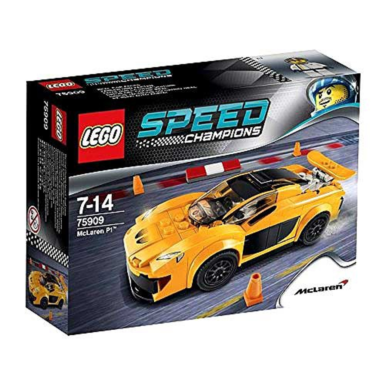 LEGO Speed Champions McLaren P1 Set #75909