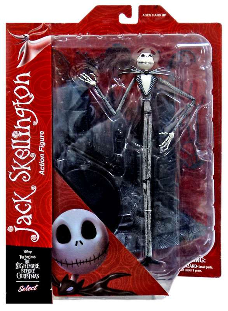 nightmare before christmas select series 1 jack skellington action figure - Nightmare Before Christmas Action Figures