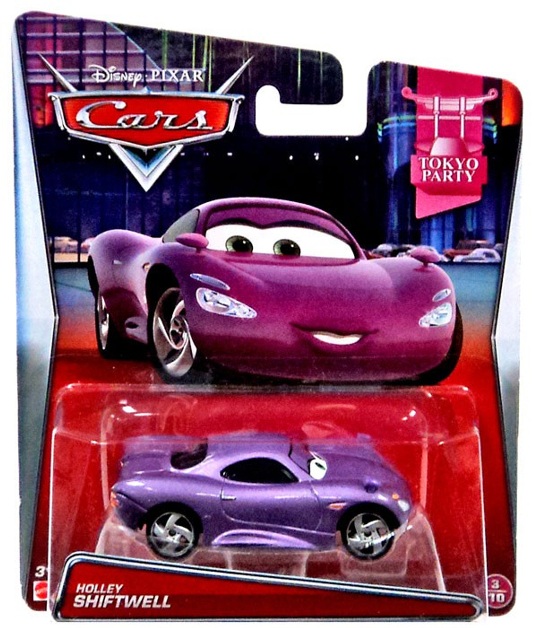 Disney Cars Tokyo Party Holley Shiftwell 155 Diecast Car